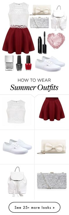 outfit for summer❣ by kaallinaa on Polyvore featuring Ally Fashion, Vans, RED Valentino, Rebecca Minkoff, Bobbi Brown Cosmetics and O