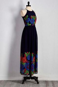 Versona botanical maxi dress #Versona