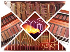 COSMELISTA: URBAN DECAY Naked Heat Palette Eyeshadow Review Sw...