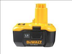DeWalt DE9180 Li-ion Nano Battery Pack 18 Volt