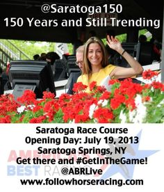 Welcome to Saratoga's 150th race meet - still trending after 150 years!