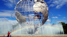 I run through Queens in preparation for the NYRR Queens 10k and encounter zombies and rainbows.