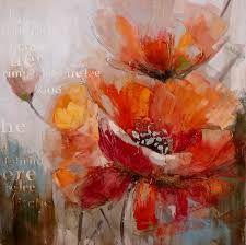 """Résultat de recherche d'images pour """"tableau abstrait"""" Acrylic Flowers, Abstract Flowers, Acrylic Art, Watercolor Flowers, Watercolor Paintings, Abstract Art, Art Floral, Painting Lessons, Painting Techniques"""