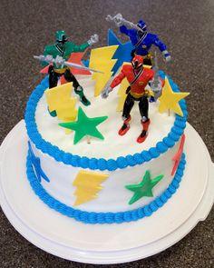 LOVE IT! Cullinan Cakes: Power Ranger Cake