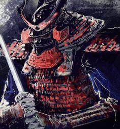 Samurai 14 03 by mariofernandes (Mário Fernandes) - Digital ArtLords
