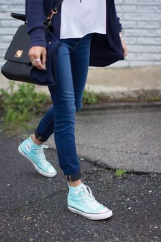 Sponsored: Snatch up a pair of sneakers in mint condition.  Repin with #RevlonYearinColor for your chance to be 1 of 25 to win a pair of Kendra Scott earrings and Revlon products. Copy and paste your Pinterest link into the comments section on the Pin to Win pin.
