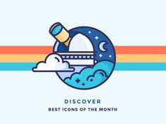Best Icons Of The Month by Justas Galaburda