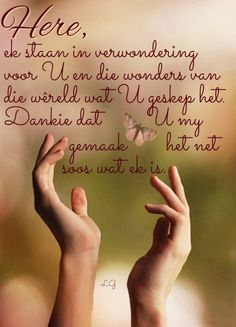 Heres To You, You And I, Goeie More, My Land, Afrikaans, Quotes About God, Gods Love, Worship, Christianity