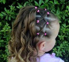 baby girl hair style for short hair - Baby Hair Style baby girl hair style for short hair - Baby Hair Style Cute Toddler Hairstyles, Cute Ponytail Hairstyles, Easy Hairstyles For Kids, Cute Little Girl Hairstyles, Cute Ponytails, Flower Girl Hairstyles, Hair Ponytail, Toddler Hair Dos, Tapered Hairstyles