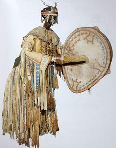 Panoplie de costume Evenk - Fiche Musée de l'Homme