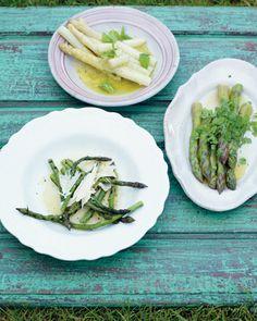 grilled asparagus with olive oil, lemon and parmesan | Vegetarian - Recipes (UK) - Jamie Oliver