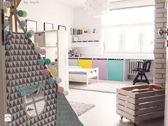 Pokój dziecka styl Skandynawski - zdjęcie od Meblościanka Studio