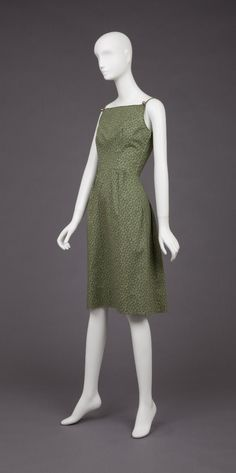McCardell, Claire  Object Name:  	  dresses  Date Made:  	  1950-1955
