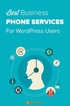 6 Best Business Phone Services for Small Business (2021) Content Marketing, Online Marketing, Computer Help, Wordpress Website Design, Phone Service, Marketing Techniques, Wordpress Plugins, Online Business, Web Design