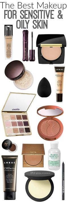 My Go To Makeup Products for Oily Skin -