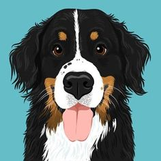 dog illustration A lifestyle brand for you and your dog. Home decor, mugs, art and accessories featuring original dog illustrations, and pet portraits with tons of character. Art And Illustration, Character Illustration, Underwater Dogs, Dog Home Decor, Image Deco, Mug Art, Dog Paintings, Dog Portraits, Character Portraits