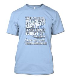 Gameday Tees: Tribute to Dean Smith Southern Women, Southern Pride, Dean Smith, Unc Tarheels, Carolina Blue, North Carolina, Girls Heels, Tar Heels, College Fun