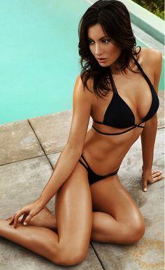 3c9d56aca5200 Cheeky Flirty Black Bikini - Stella La Moda Black Bikini