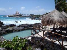 coastal view- Playa de Carmen - went here in 2001. Very pretty....