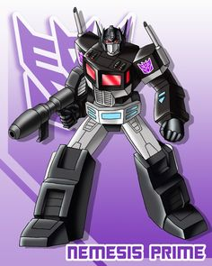 Did Nemesis Prime appear at all in any comics or any Transformers comic/graphic novel? Transformers Prime, Transformers Decepticons, Transformers Characters, Transformers Bumblebee, Gi Joe, Nemesis Prime, Delorean Time Machine, Fanart, Cartoons