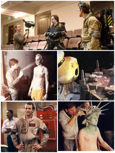 Ghostbusters - behind the scenes 1984  Cg vfx