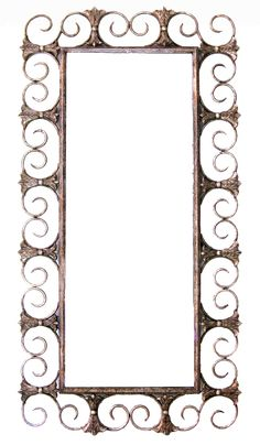 Php, Mirror, Home Decor, Wrought Iron, Mirrors, Store, Silver, Gray, Decoration Home