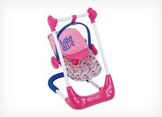 Baby Alive 3 in 1 Doll Play Set Swing Highchair and Car Seat Baby Alive 3 in 1 Puppenspielset Schaukelhochstuhl und Autositz Baby Dolls For Kids, Real Life Baby Dolls, Toy Cars For Kids, Little Girl Toys, Toys For Girls, Baby Doll Toys, Baby Alive Doll Clothes, Baby Alive Dolls, Baby Doll Car Seat