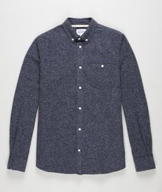 Norse Projects - Anton noise melange in Navy.
