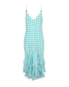 ROBERTO CAVALLI 3/4 Length Dress. #robertocavalli #cloth #dress #top #skirt #pant #coat #jacket #jecket #beachwear #