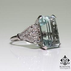 Period: Art Deco (1920-1935) Composition: 18K Gold & Platinum Stones: • 1 Old mine cut diamond of i-SI1 quality that weighs 1.10ctw. • 4 Rose cut diamonds of J-SI2 quality that weigh 0.08ctw. • 4 Natu