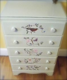 http://rtalloni.hubpages.com/hub/Paint-A-Dresser-Give-New-Life-To-An-Old-Piece-Of-Furniture