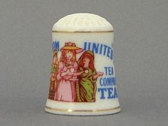 Franklin Thimble  The UK Company's Teas by PricklepinsThimbles