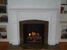 custom wood fireplace surrounds   ... custom-made wood mantles. If you can find a picture of it, chances are