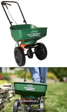 Seeders and Spreaders 118869: Scotts Turf Builder Edgeguard Mini Broadcast Spreader, Manure And Lawn Products -> BUY IT NOW ONLY: $44.29 on eBay!