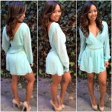 Chic Romper - Mint | Fashion Nova
