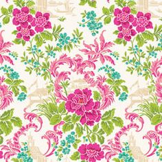 Anna Griffin fabrics Chinoiserie Blossom