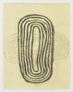Mette Stausland Moving Part 18 2014 Pencil on paper 69 x 54 cm
