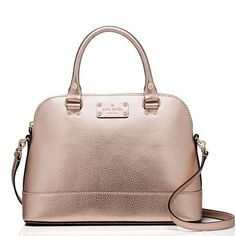Coming soon! Kate spade rose gold bag So cute! Will arrive Monday✨ Same day/next day shipping ❌ No trades ✅ Feel free to make an offer, no low balling! ❤️ Remember posh takes 20% and I'm a broke college student that has to make a profit too kate spade Bags Satchels