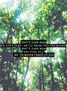 "Martin Garrix said, ""Don't Look Down"""