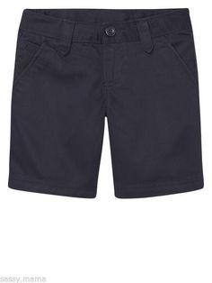 7e86f21da Gap Kids GapShield Flat Front Shorts Navy Blue SZ 10 Regular NWT Dressy  Cotton #GapKids