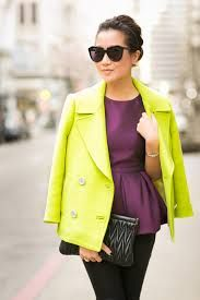 complementary color fashion - Google Search
