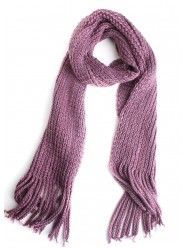One By One Scarf In Purple  $23.00