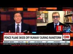 Miles O'Brien speaks about the Plane carrying Mike Pence skids off runwa...