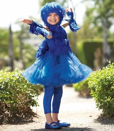 bluebird of happiness child costume - Chasing Fireflies