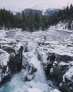 Sunwapta Falls Canada |  Meagan Lindsey Bourne