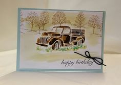 Stamping at The Warren: Build A Masculine Birthday with Country Living &…