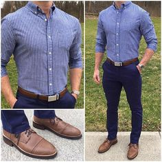 If you are in the market for brand new men's fashion suits, there are a lot of things that you will want to keep in mind to choose the right suits for yourself. Below, we will be going over some of the key tips for buying the best men's fashion suits. Outfits Hombre Casual, Outfit Hombre Formal, Formal Men Outfit, Smart Casual Men, Business Casual Men, Stylish Men, Men Graduation Outfit, Blue Pants Men, Blue Pants Outfit