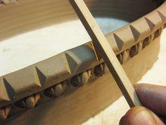 Chopstick dents