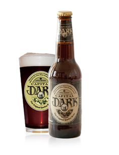 Capital Brewery - Capital Dark. Dark lager, not stout or porter like.