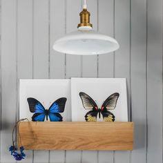 Oak Wall Storage Box - Cabinets & Shelving - Furniture - Furniture
